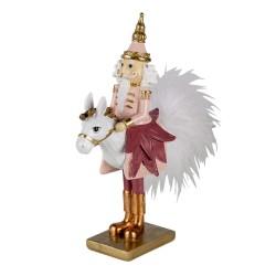 Figurka Świąteczna Dziadek Do Orzechów Na Koniu B Clayre & Eef