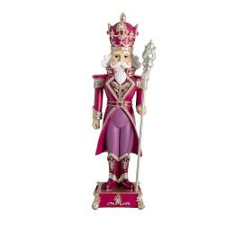 Wysoka Figurka Świąteczna Dziadek Do Orzechów D Clayre & Eef