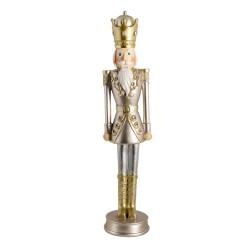 Wysoka Figurka Świąteczna Dziadek Do Orzechów H Clayre & Eef