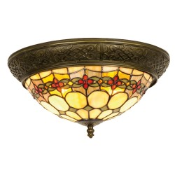 Lampa Tiffany Plafon C Clayre & Eef