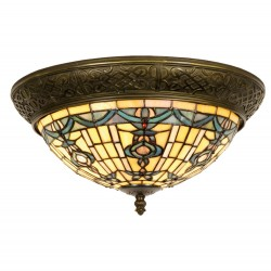 Lampa Tiffany Plafon D Clayre & Eef