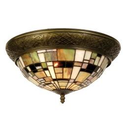 Lampa Tiffany Plafon E Clayre & Eef