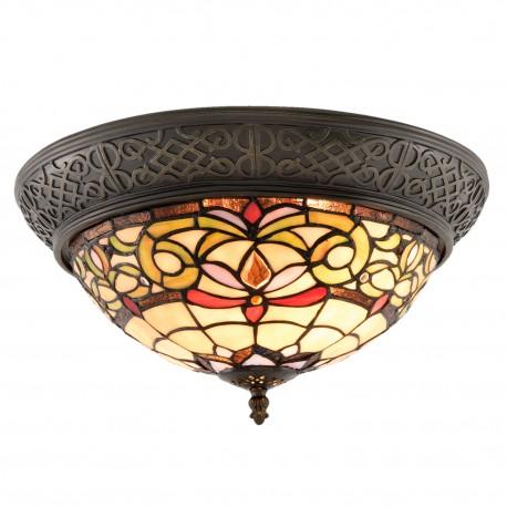 Lampa Tiffany Plafon F Clayre & Eef