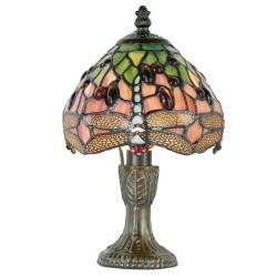 Lampa Stołowa Tiffany Liście Clayre & Eef