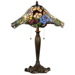 Duża Lampa Stołowa Tiffany D Clayre & Eef