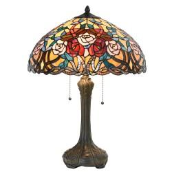 Duża Lampa Stołowa Tiffany E Clayre & Eef