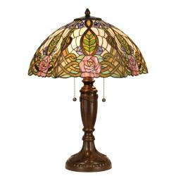 Duża Lampa Stołowa Tiffany F Clayre & Eef