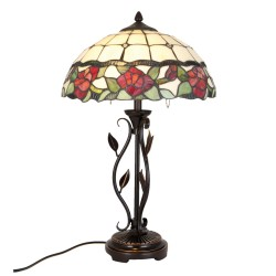 Duża Lampa Stołowa Tiffany J Clayre & Eef