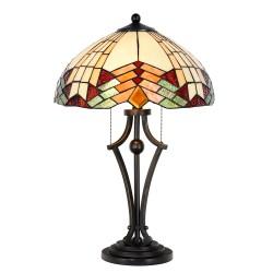Duża Lampa Stołowa Tiffany L Clayre & Eef