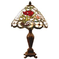Lampa Stołowa Tiffany Kolorowa B Clayre & Eef