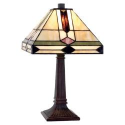 Lampa Stołowa Tiffany Kolorowa C Clayre & Eef