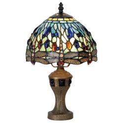 Lampa Stołowa Tiffany Kolorowa D Clayre & Eef