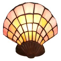 Lampka Stołowa Tiffany Muszla Clayre & Eef