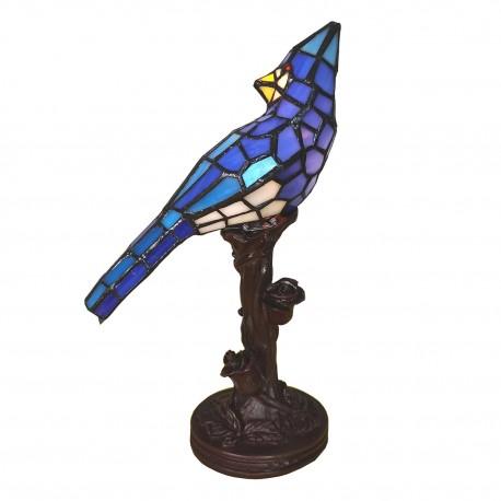 Lampka Stołowa Tiffany Papuga C Clayre & Eef
