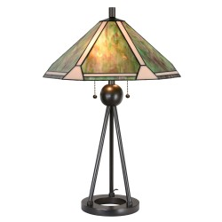 Lampa Witrażowa Stołowa Tiffany A Clayre & Eef