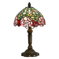 Lampa Witrażowa Stołowa Tiffany D Clayre & Eef