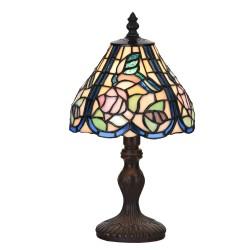 Lampa Witrażowa Stołowa Tiffany E Clayre & Eef
