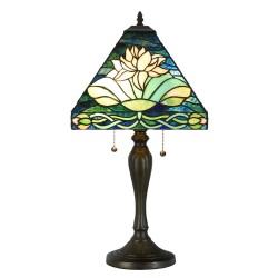 Lampa Witrażowa Stołowa Tiffany I Clayre & Eef