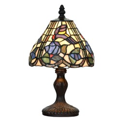 Lampa Witrażowa Stołowa Tiffany K Clayre & Eef