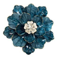 Dekoracja Ścienna Metalowy Kwiat D Clayre & Eef
