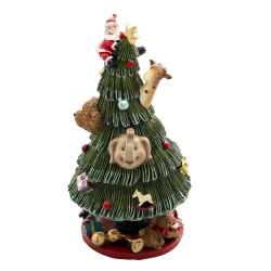 Pozytywka Świąteczna Karuzela Choinka A Clayre & Eef