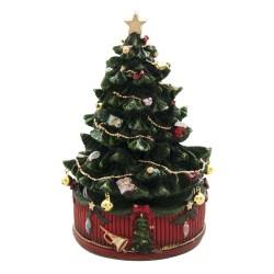 Pozytywka Świąteczna Karuzela Choinka B Clayre & Eef