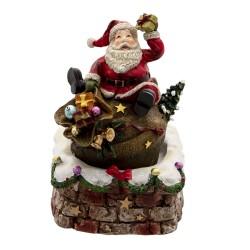 Pozytywka Świąteczna Karuzela Mikołaj A Clayre & Eef