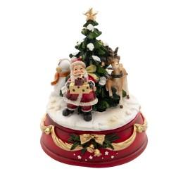 Pozytywka Świąteczna Karuzela Mikołaj B Clayre & Eef