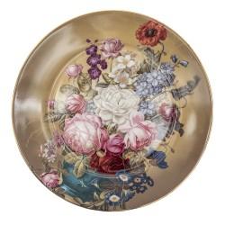 Talerzyki Deserowe Prowansalskie w Kwiaty C Clayre & Eef
