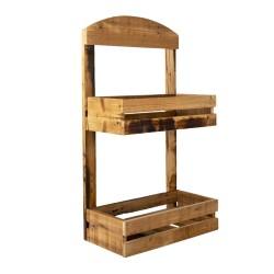 Metalowy Stolik z Napisem na Blacie Clayre & Eef