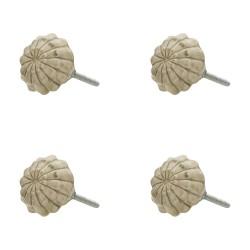 Ozdobne Gałki Do Mebli Ceramiczne 4 szt. Clayre & Eef