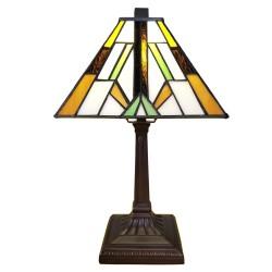 Lampka Tiffany Witrażowa Stołowa B Clayre & Eef