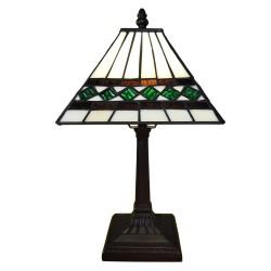 Lampka Tiffany Witrażowa Stołowa D Clayre & Eef