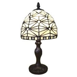 Lampka Tiffany Witrażowa Stołowa E Clayre & Eef