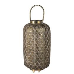 Ażurowy Lampion Metalowy D Clayre & Eef
