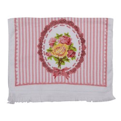 Ręcznik Do Rąk w Stylu Prowansalskim w Kwiaty F Clayre & Eef