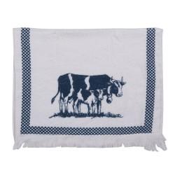 Ręcznik Do Rąk w Stylu Prowansalskim z Krowami Clayre & Eef