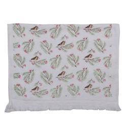 Ręcznik Do Rąk w Stylu Prowansalskim z Ptaszkami Clayre & Eef