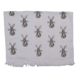 Ręcznik Do Rąk z Królikami Clayre & Eef