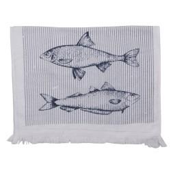 Ręcznik Do Rąk Marynistyczny z Rybami Clayre & Eef