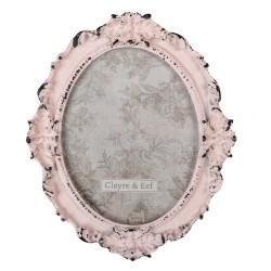 Ramka Na Zdjęcia w Stylu Prowansalskim Różowa E Clayre & Eef