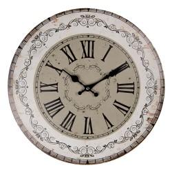 Zegar w Stylu Prowansalskim Clayre & Eef