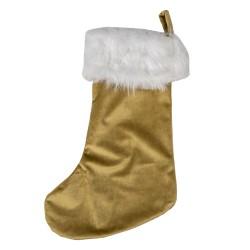 Skarpeta Świąteczna Złota A Clayre & Eef