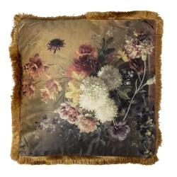 Poduszka Dekoracyjna w Kwiaty D Clayre & Eef