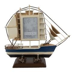 Ramka w Stylu Marynistycznym Łódka Clayre & Eef