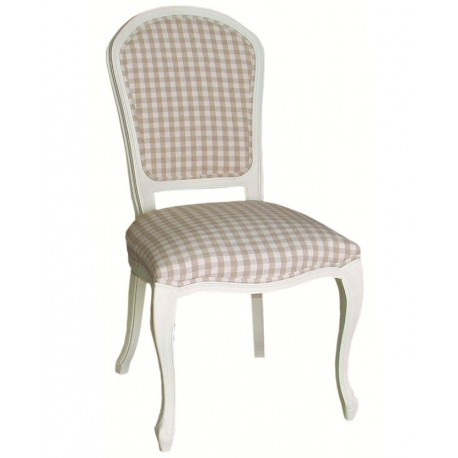Krzesło Prowansalskie Kremowe