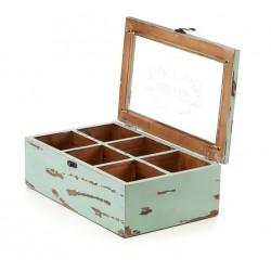 Drewniane Pudełko Aluro Mazine