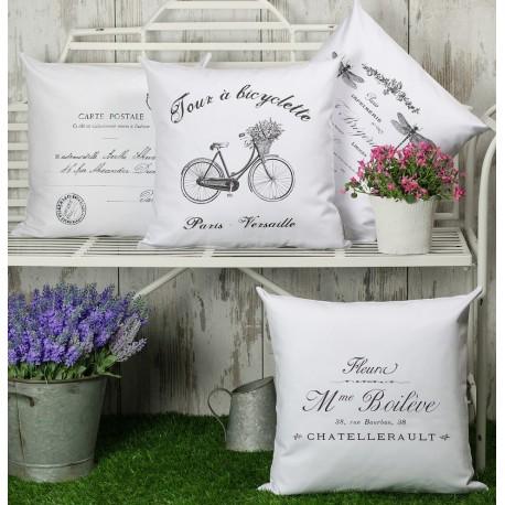 Poduszki francuskie French Home wykonane ze 100% bawełny.