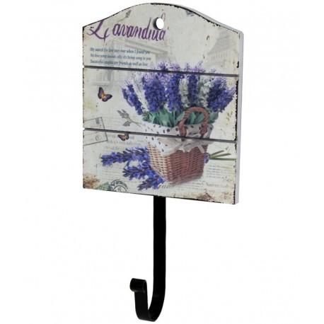 Wieszaczek w stylu prowansalskim z ozodbną tablicka