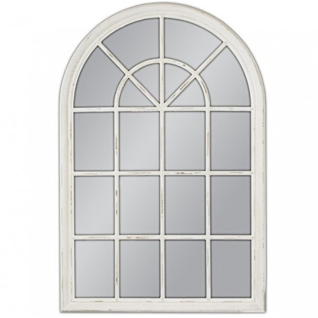 Lustro w stylu francuskim przypominające okno